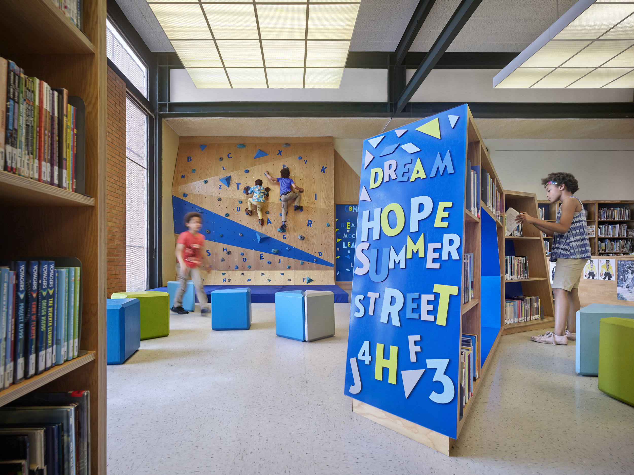 Play-And-Learn Spaces