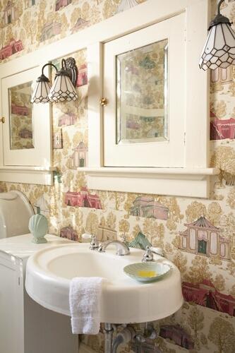 Reagan Room bath details