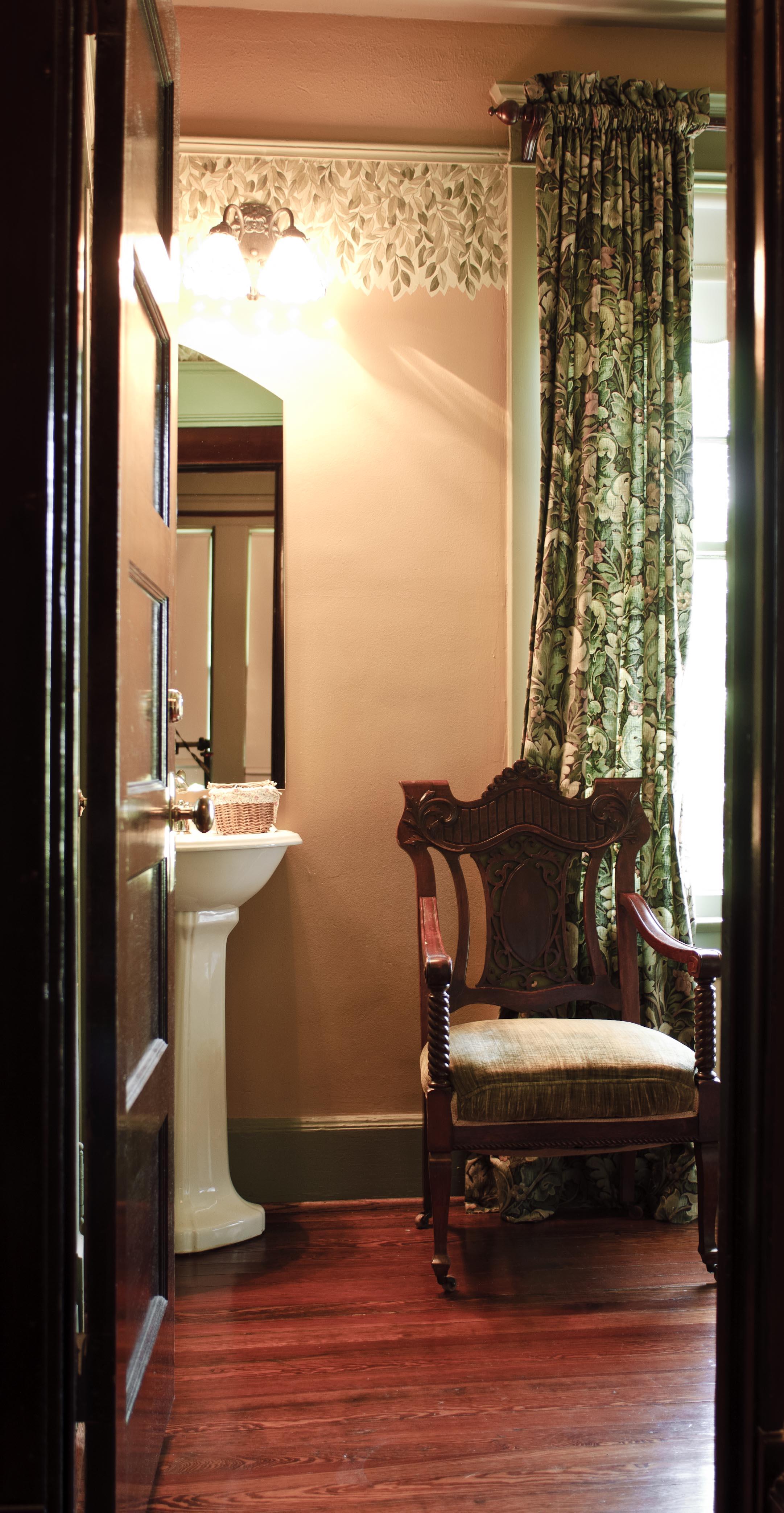 Dickason room pedestal sink