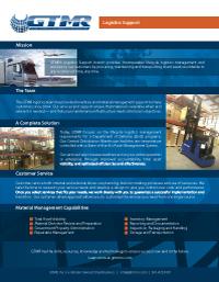 Logistics Support (PDF 474kb)
