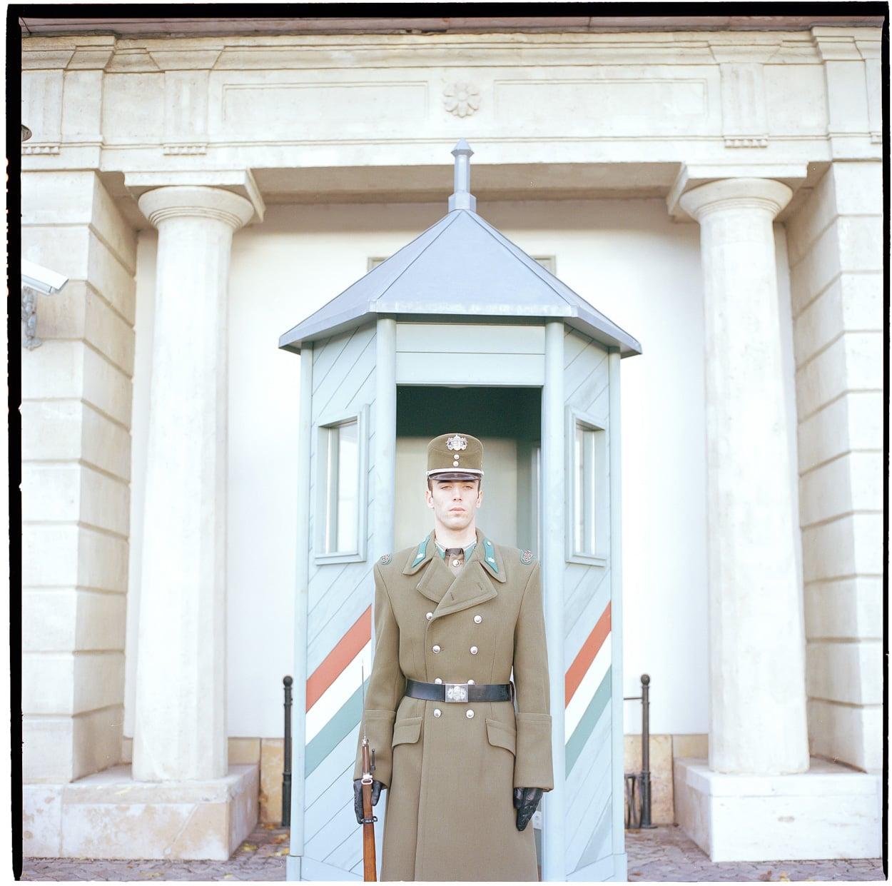 Guard, Buda Castle