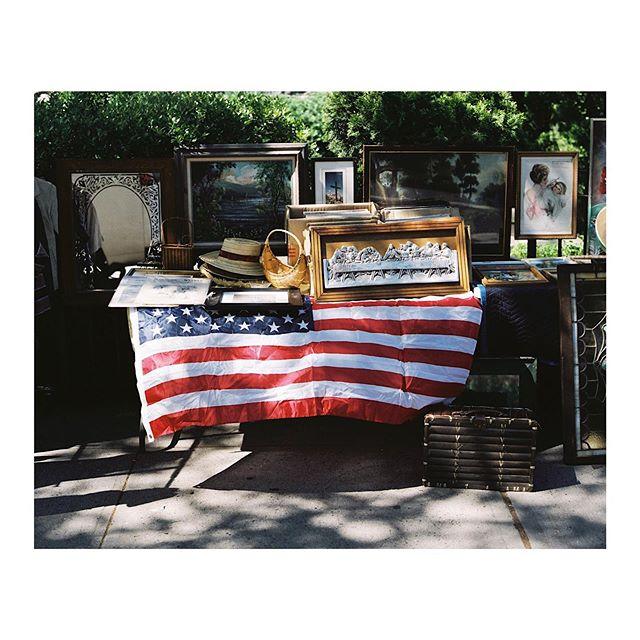 Sunday Flea market finds in Soho, NYC. June, 2019.  #fleamarket #soho #nyc #usa #mediumformat #filmphotography