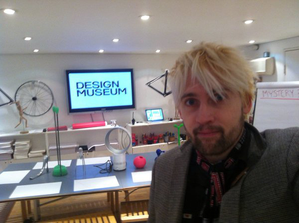 David Houston, Learning Producer at the Design Museum during #MuseumWeek.