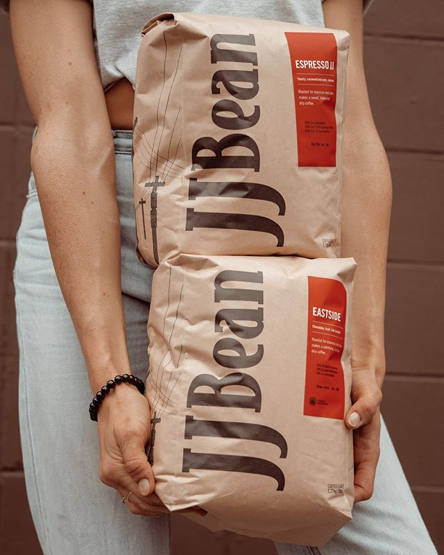 The more coffee, the merrier! ❤️ Did you know we sell beans in bulk? Our 5lb bags are perfect for events (or for making sure you never run out @ home!) $69.95, tax included.