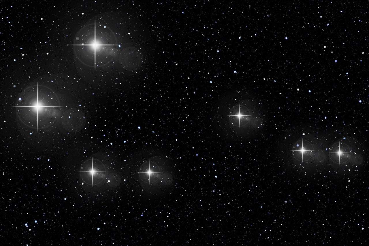 The Pleiades, a distant star cluster that many ancient & indigenous wisdom traditions recognize in their creation stories as the origin of human beings