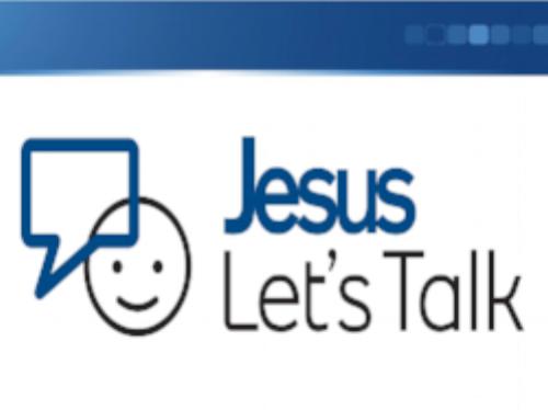 Jesus Let's Talk -