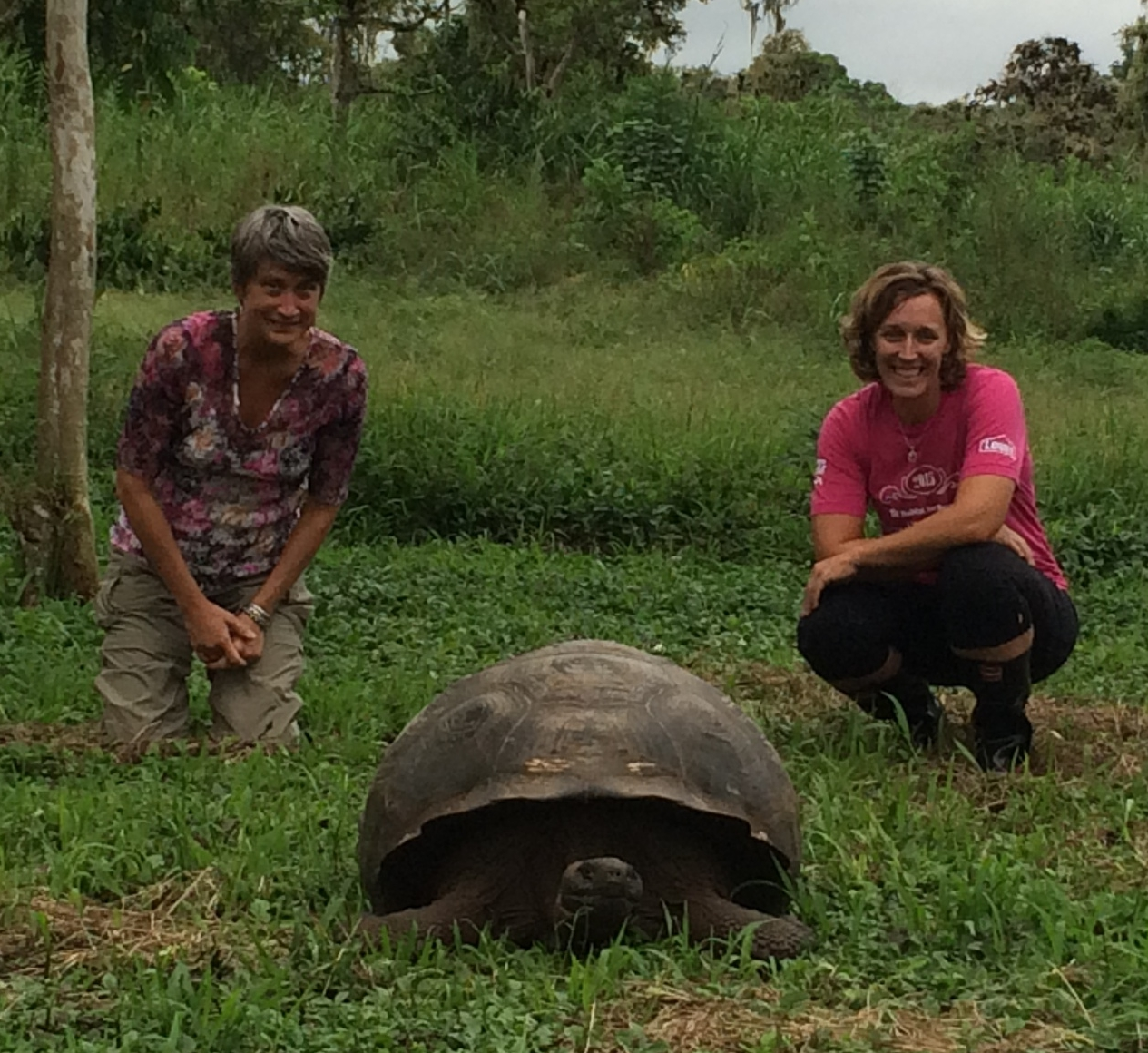 Spending time with people that matter made my list. My pal Ann, provider of many great life questions, hung out with a Turtle whose age exceeded both of ours in the Galapagos Islands this summer.