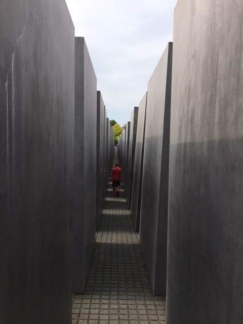 None of us could speak as we walked through the memorial. It was a time of letting it sink in, the processing has come later.