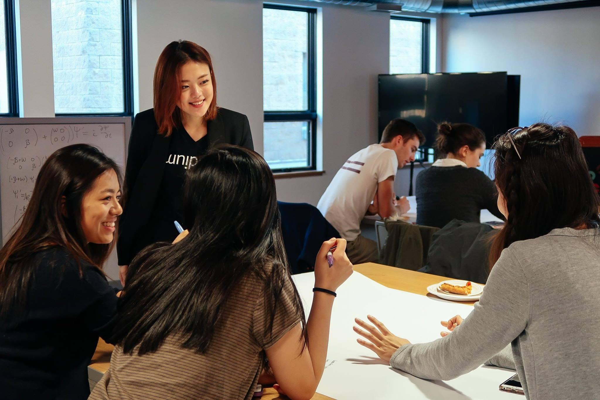 ^ me Instructing design thinking workshops 😌