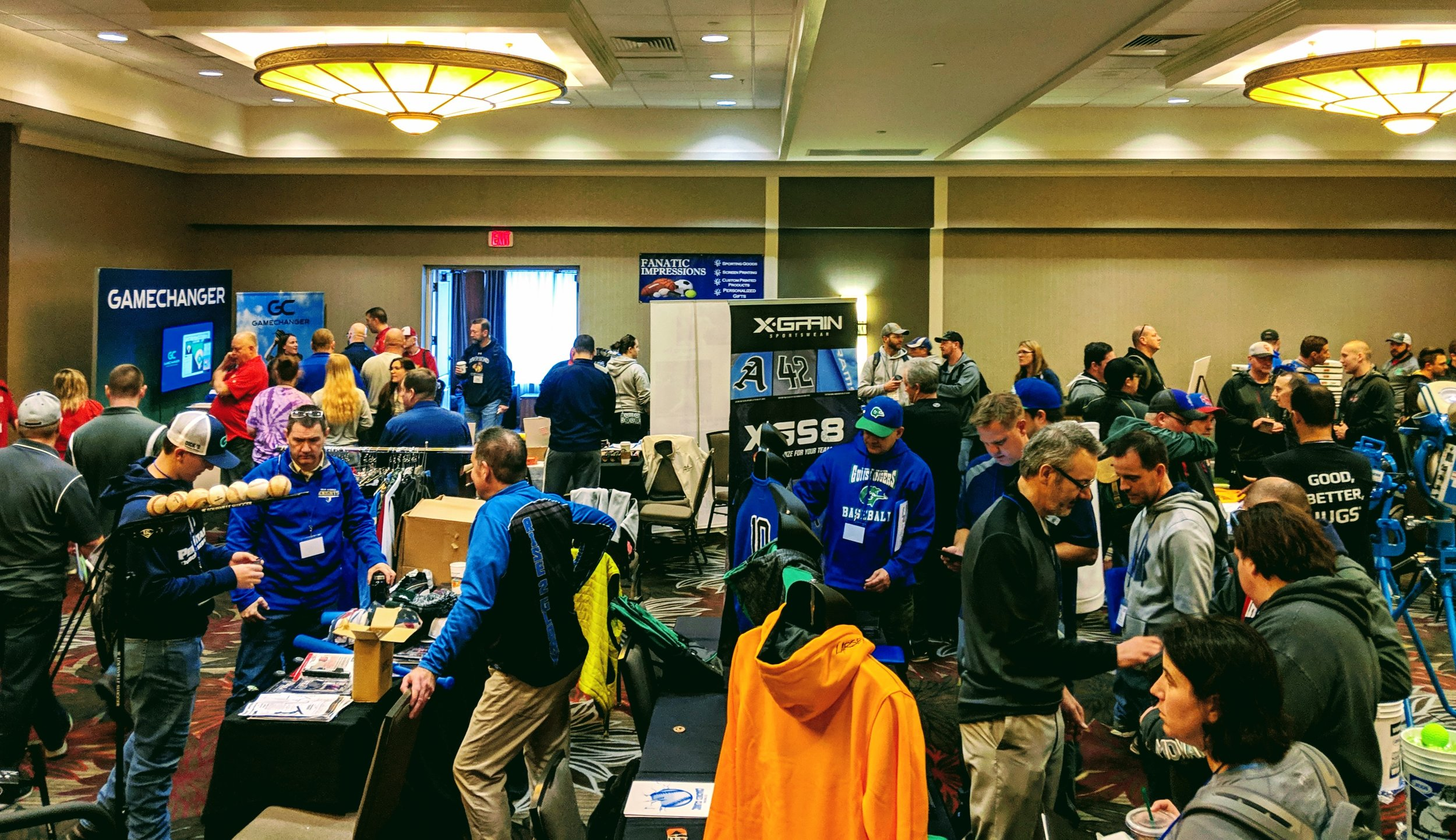 Coaches Clinic - Vendor room 2019.jpg