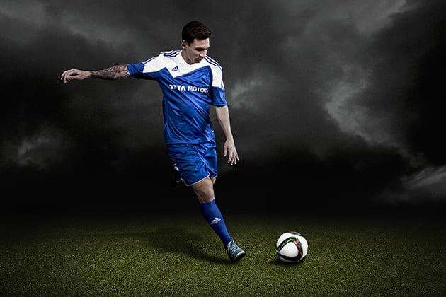 Image from my recent Lionel Messi shoot.