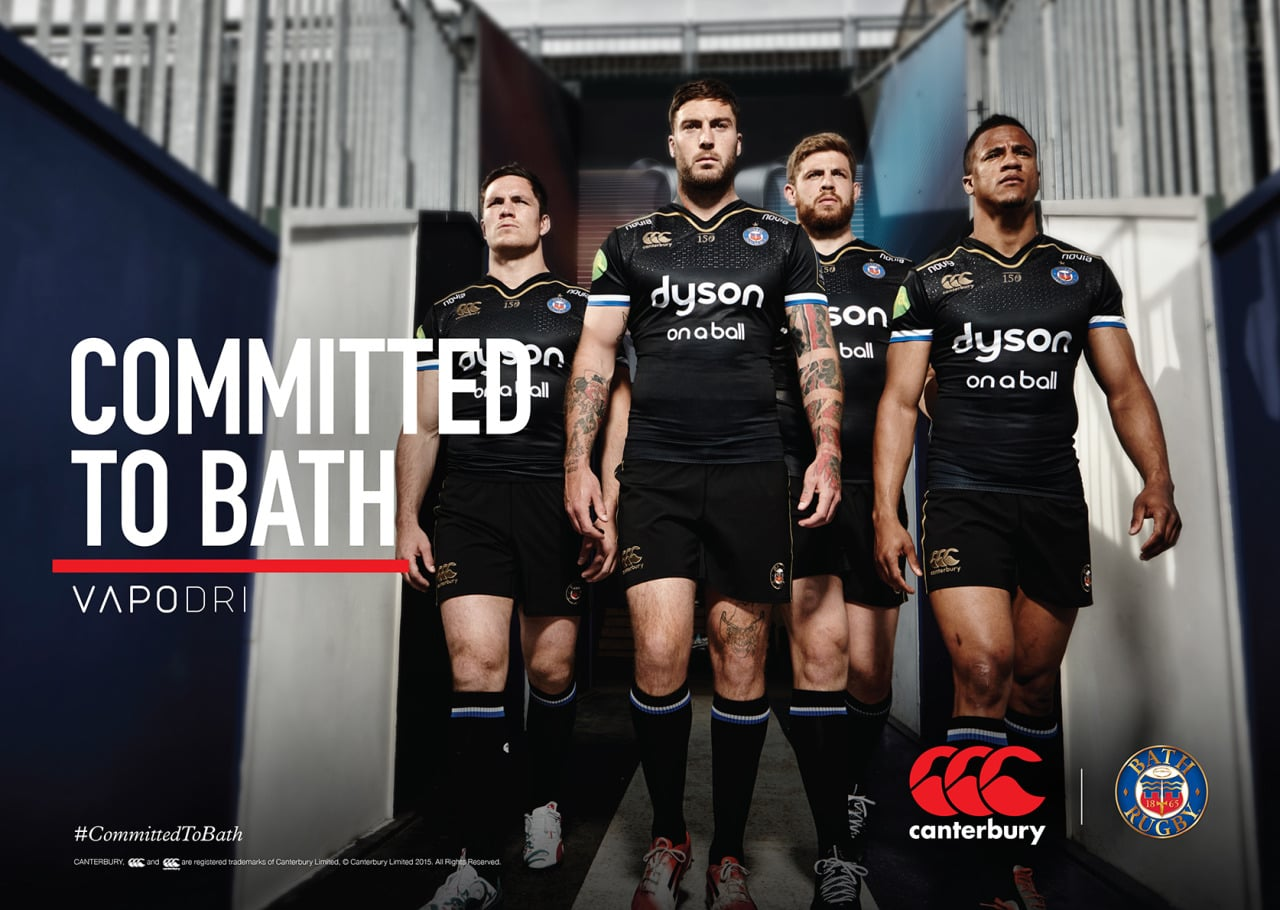 Another shoot with the lovely Canterbury team & Bath Rugby