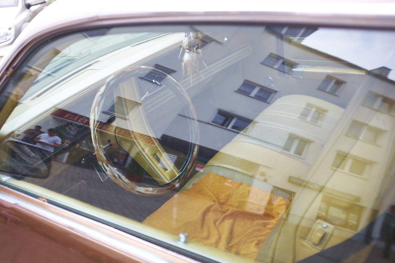 Old Chrysler in Warsaw