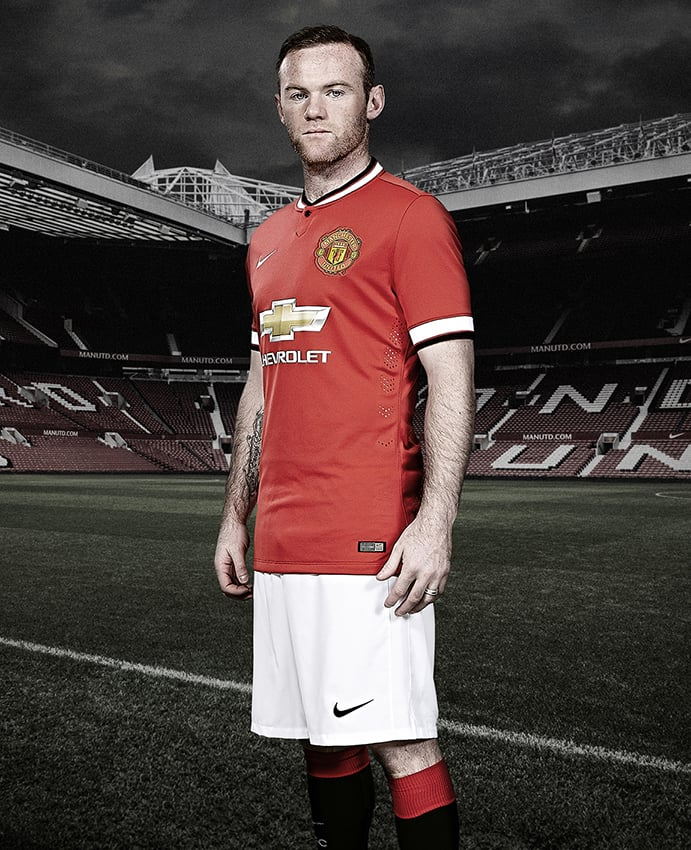 Recent shoot with Wayne Rooney