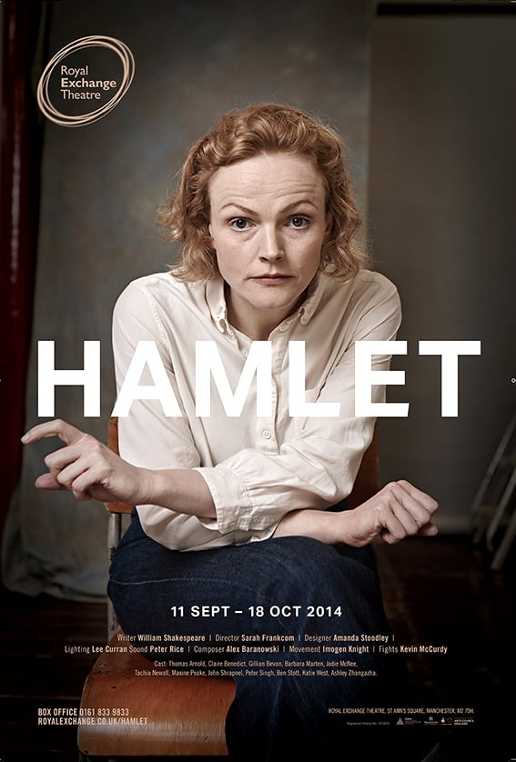 My recent shoot with actress Maxine Peake. Look out for the posters at The Royal Exchange Theatre.