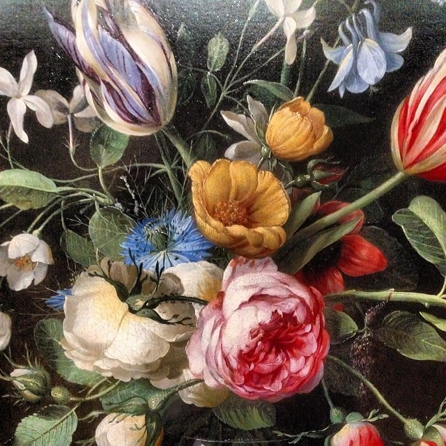 Close up photo of Painting by J A Van Der Baren on display at Manchester Art Gallery #vanderbaren