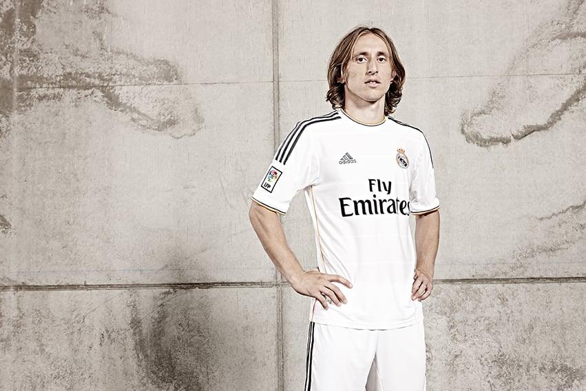 Luka Modrić of Real Madrid.    Photographed at the amazing training ground.