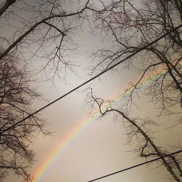 Somewhere over the rainbow #rainbow