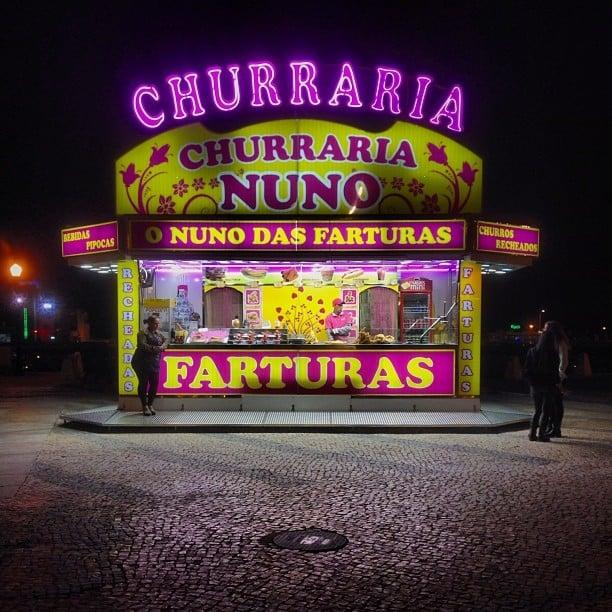 Snack hut In Faro #faro #portugal #algarve #fastfood