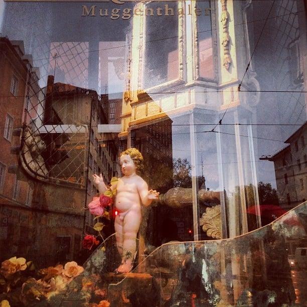 Munich shop window #reflection #window #shopwindow #munich #germany