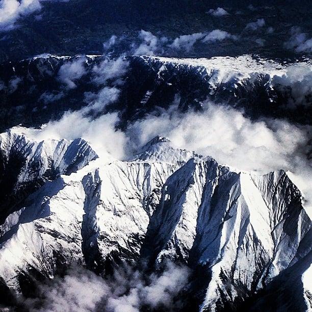Flying over Turin. #turin #turino #italy