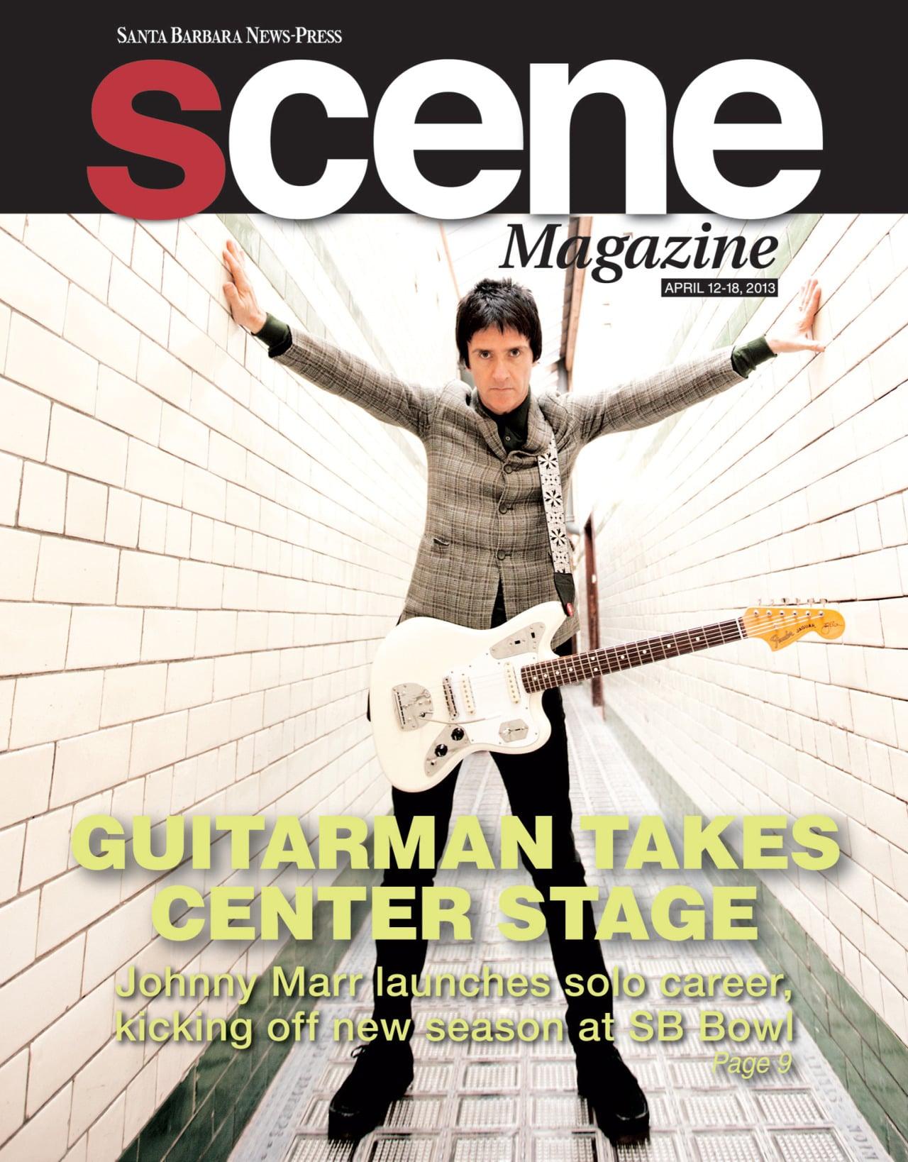 My cover of Johhny Marr for Santa Babara (LA) magazine