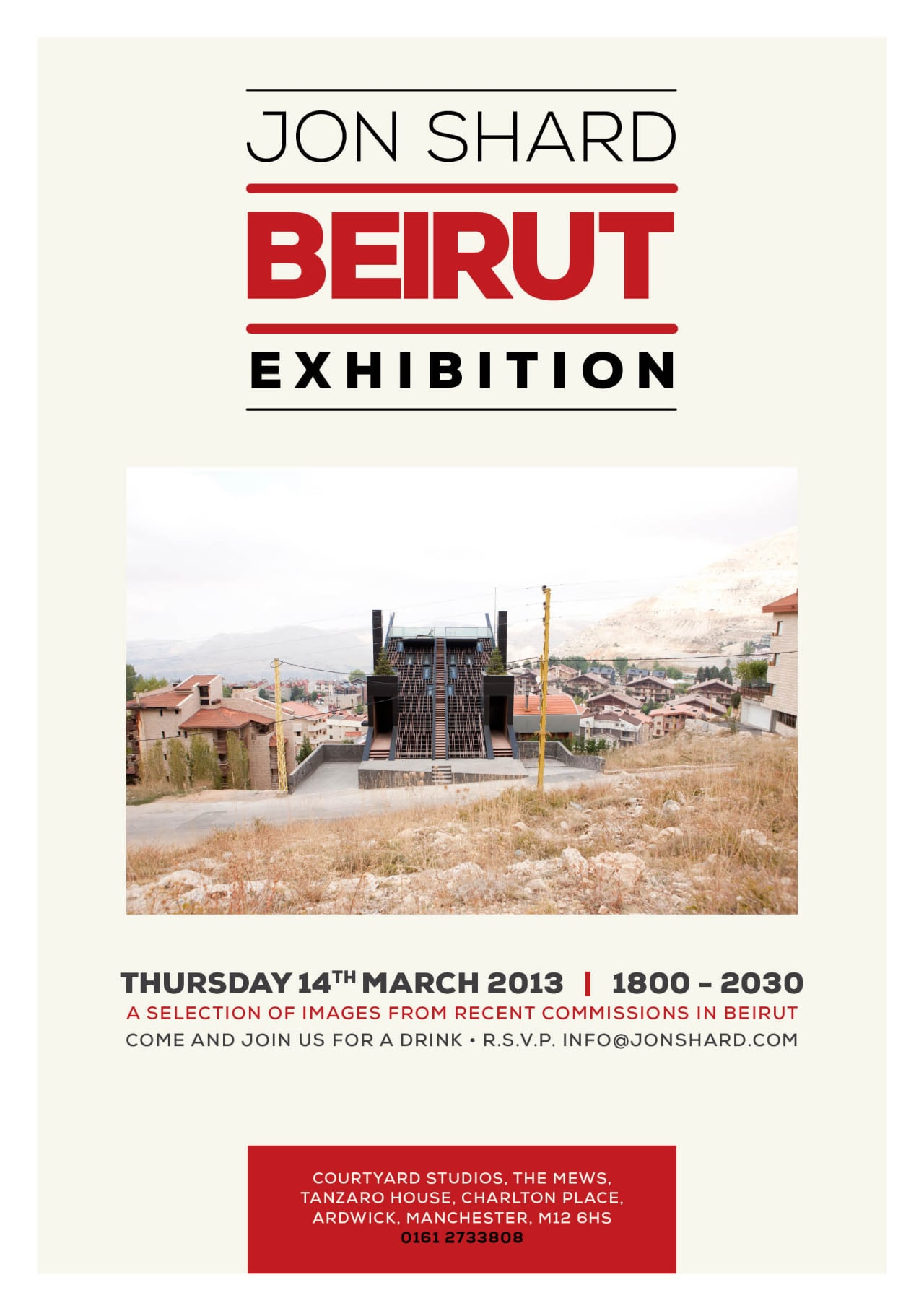 Invite for last months exhibition