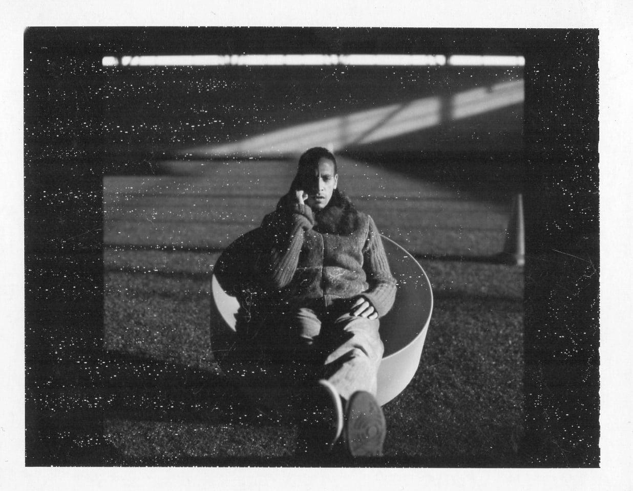 From the polaroid archive: Rio Ferdinand
