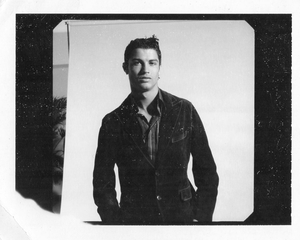 From the polaroid archive: The Great Ronaldo