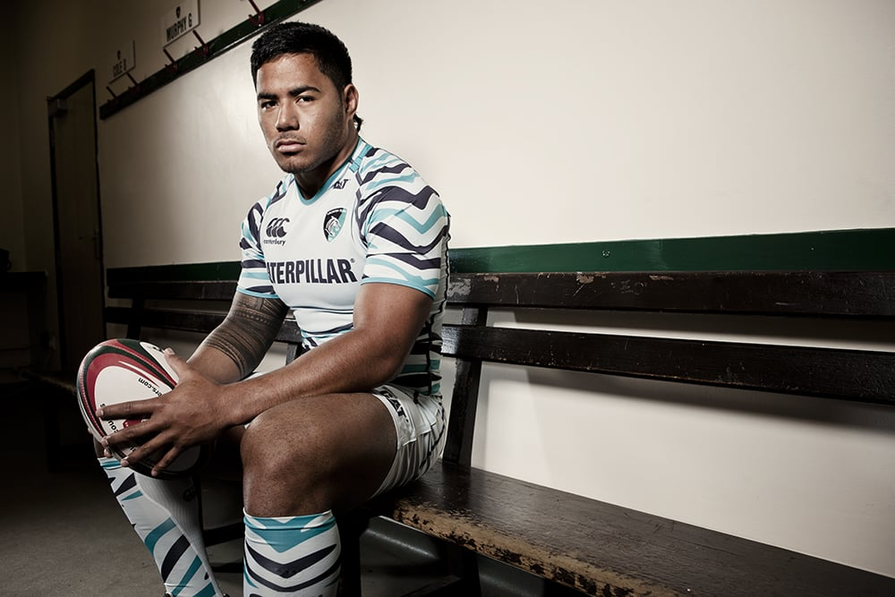 Photos from last shoot with Leicester Tigers.   Manusoma Tuilagi