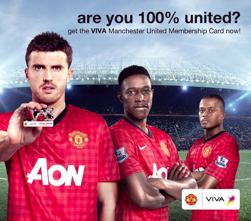 CARRICK, WELLBECK & EVRA LOOKING GOOD IN MY RECENT SHOOT WITH VIVA