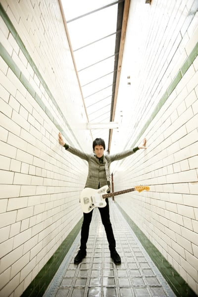 My Shoot with Johnny Marr for Guitar World magazine