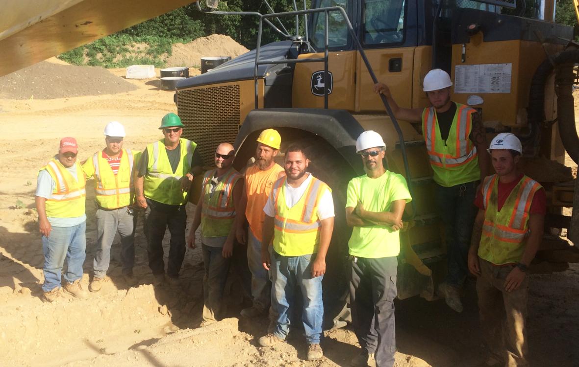 Members at Esposito Construction, Local 339