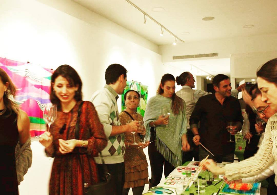 WINE AND ART EVENT AT CLIC LAB NOV 2017.jpg