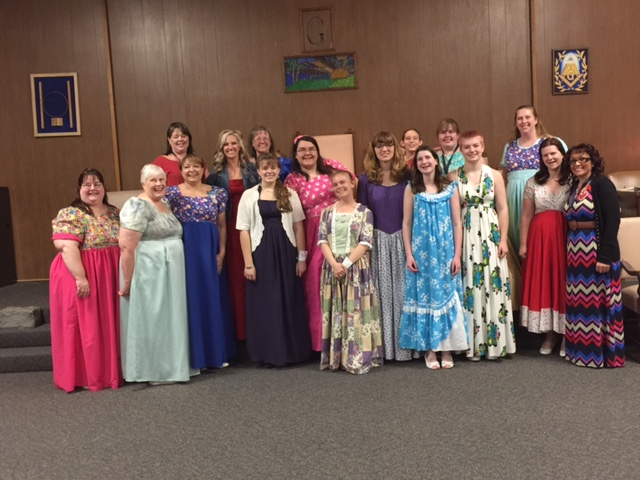 Congratulations to the girls and the adults as well on a great initiation night! Ceremony was held last March 8th at our lodge.
