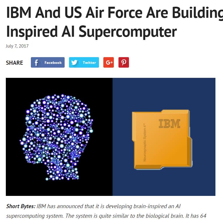 Brain-inspired AI supercomputer
