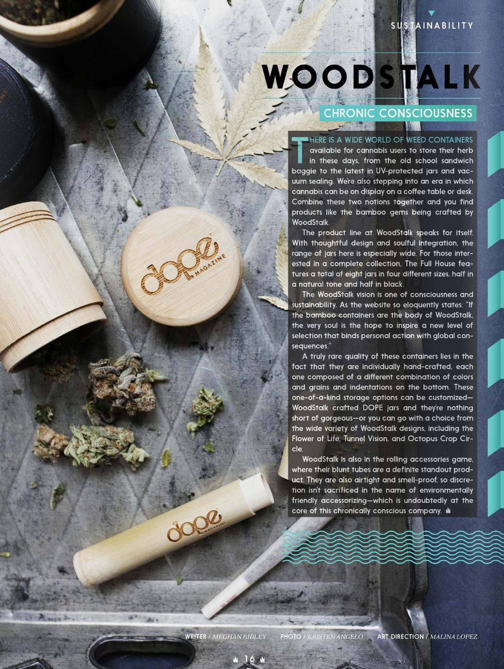 Dope Magazine, April 2016