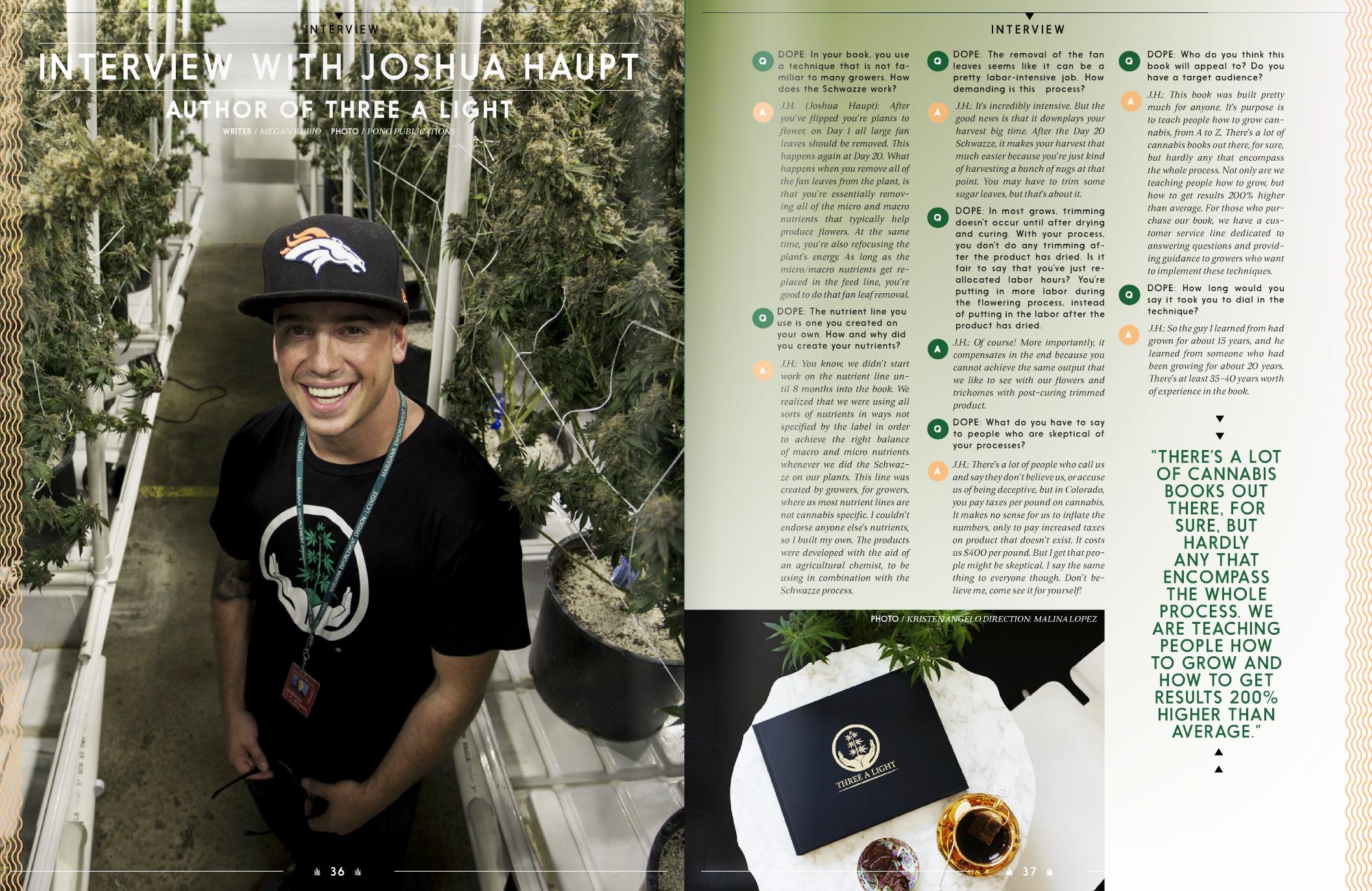 Dope Magazine, June 2016