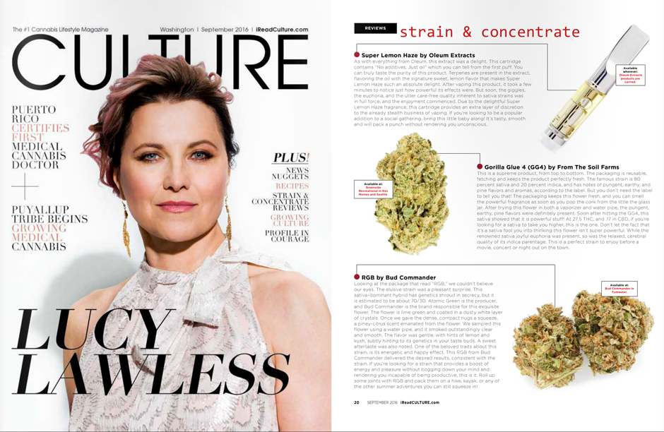 Culture Magazine, September 2016