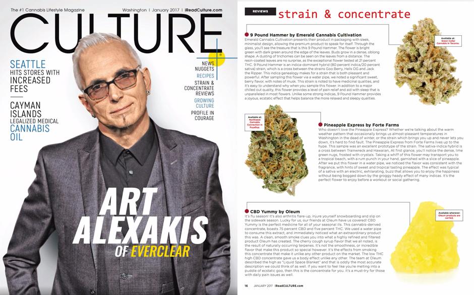 Culture Magazine, January 2017