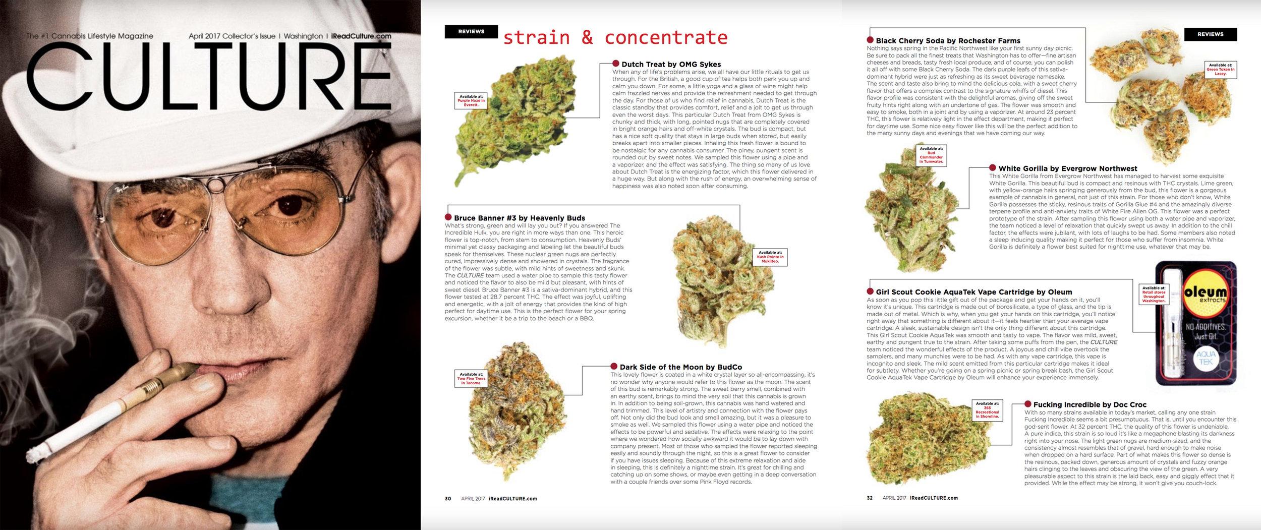 Culture Magazine, April 2017