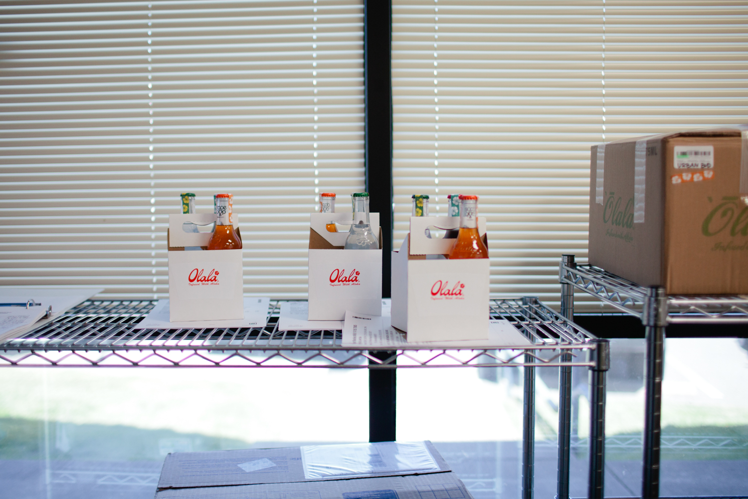 Olala: cannabis-infused beverage processing by cannabis photogra