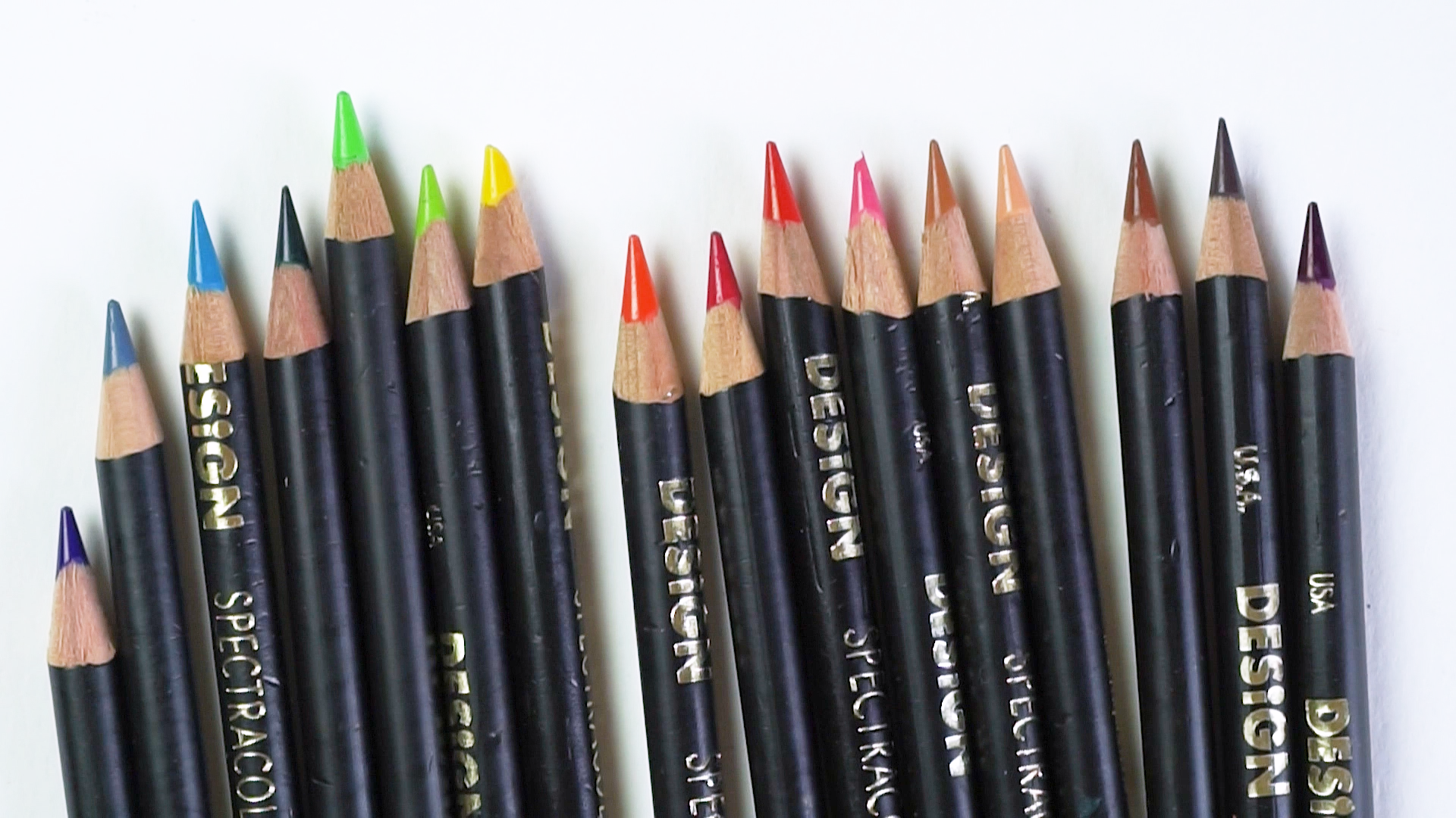 """Design """"Spectracolor"""" discontinued colored pencils from ebay... oh yeah"""