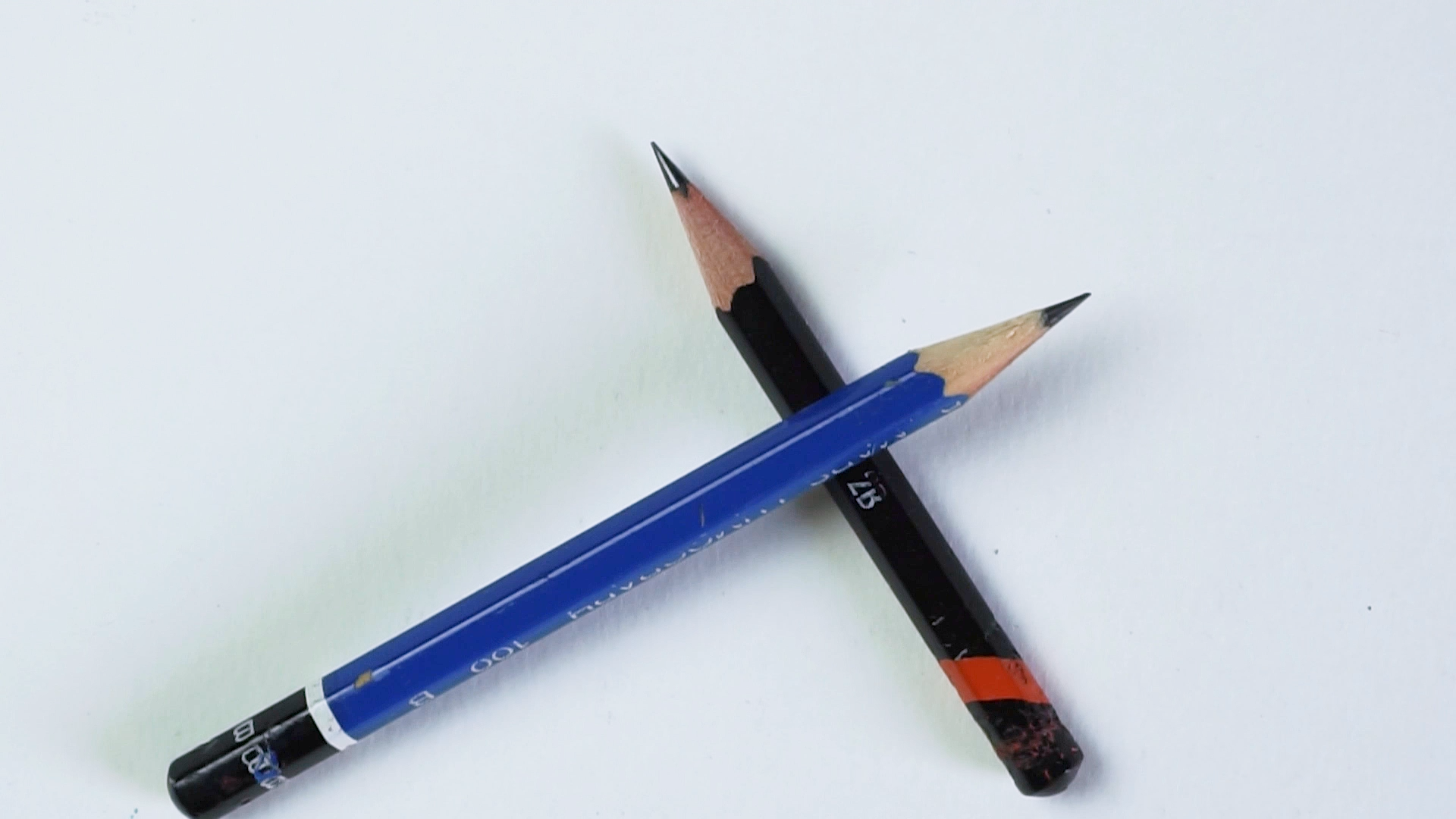 Just a B and a 2B pencil for sketching and signing stuff