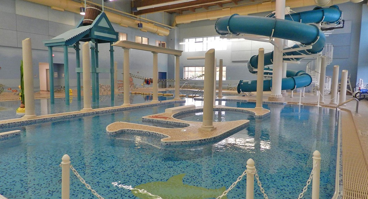 Spring Lake Community Fitness and Aquatic Center is adjacent to Arcadia