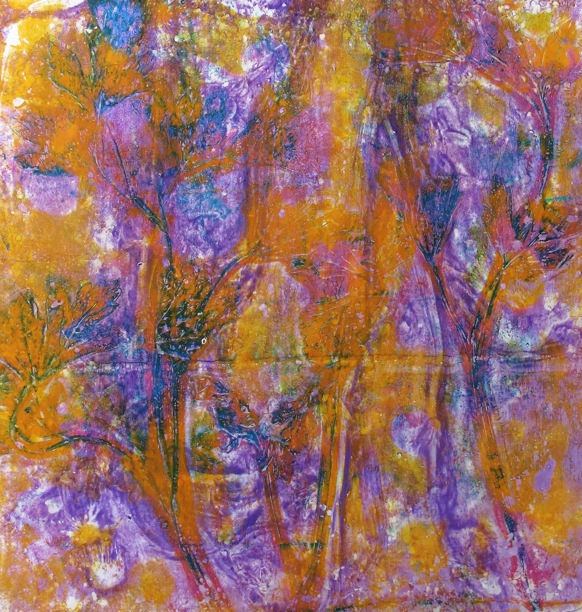 From the abstract healing series