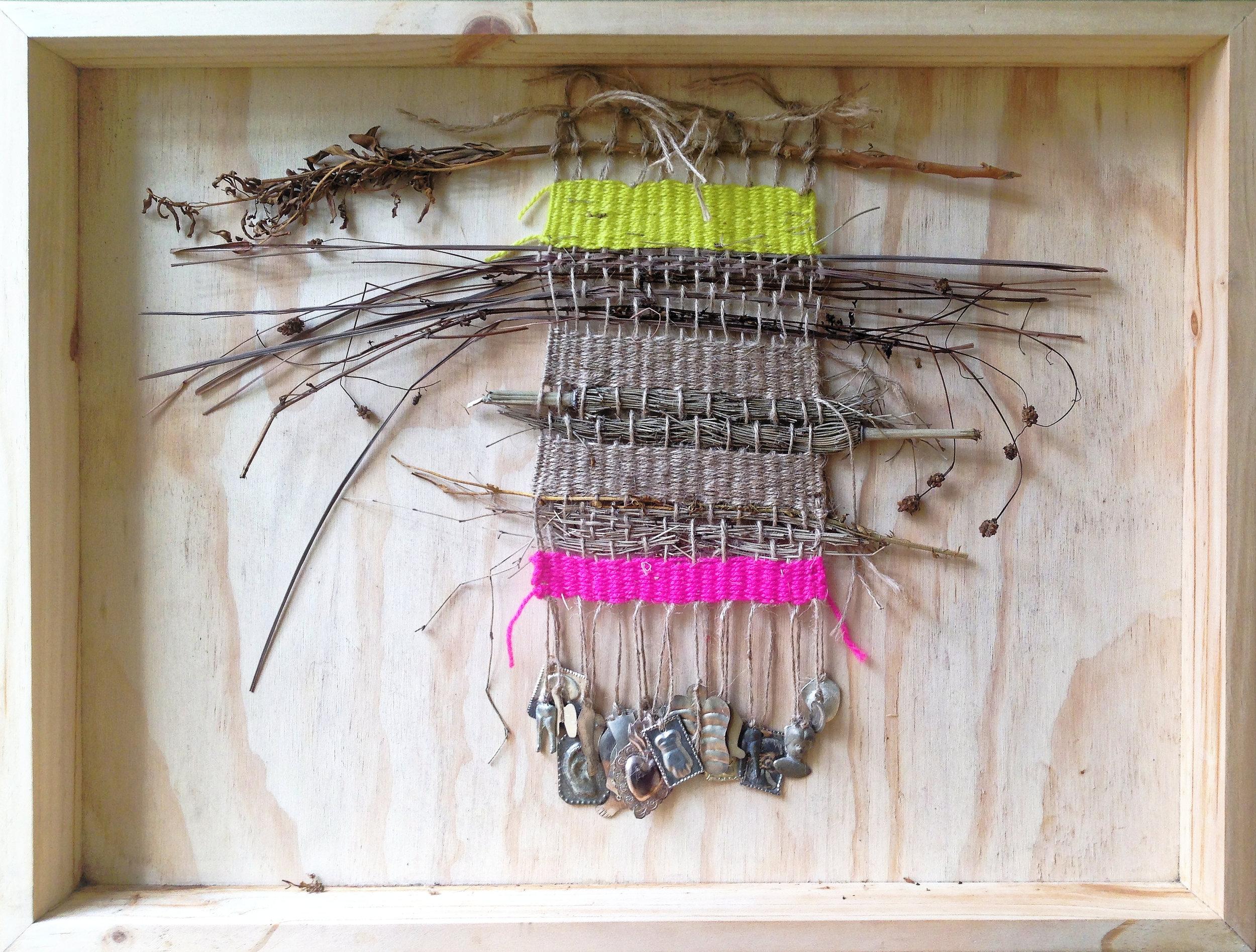 Weaving healing into the textile