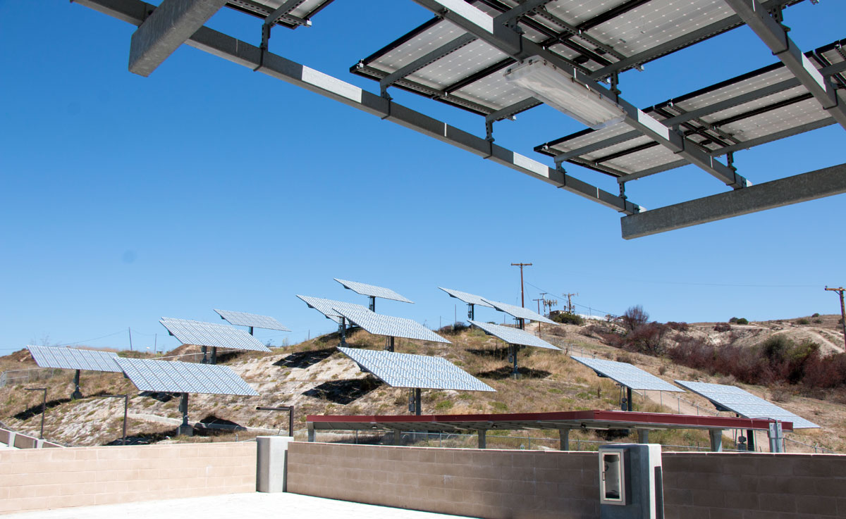 Microgrid with Solar PV at Camp Pendleton, CA