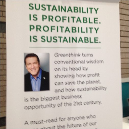 Figure 1. Chairman Rick's Message at Greenbuild in 2015