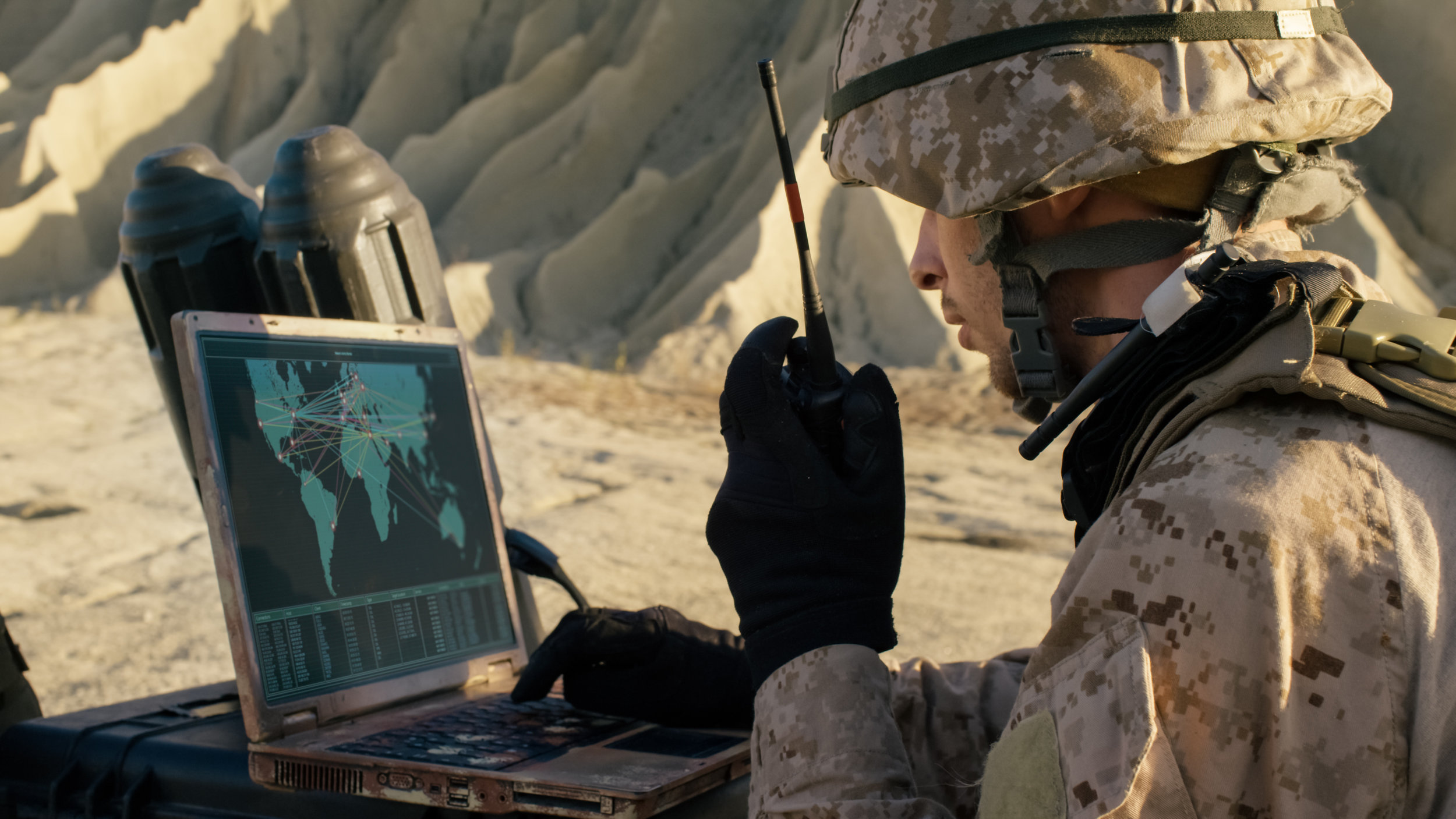 The US military is  the best example of how to apply technology under extreme conditions.